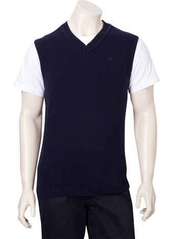 Austin Reed Navy Cotton Tank Top