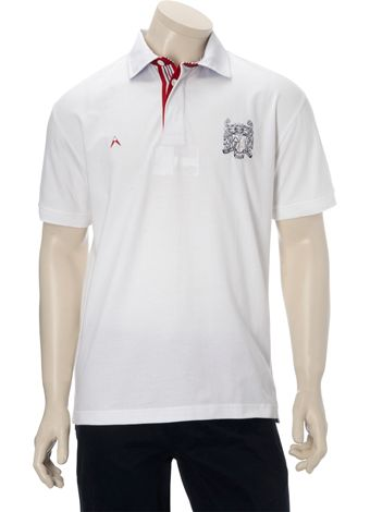 Austin Reed White England Polo