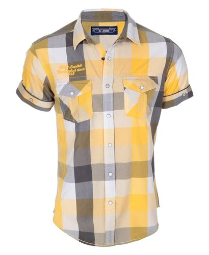 BC London Check Yellow Shirt
