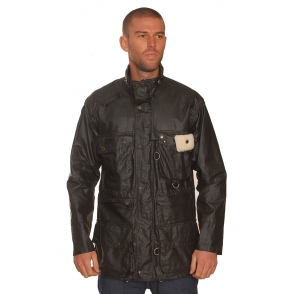 Barbour Black Dry Fly Jacket