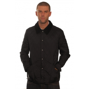 Barbour Black Liddesdale Lightweight Jacket