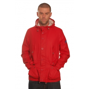 Barbour Red Durham Jacket