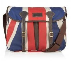 Barbour Union Jack Dryfly Messenger Bag