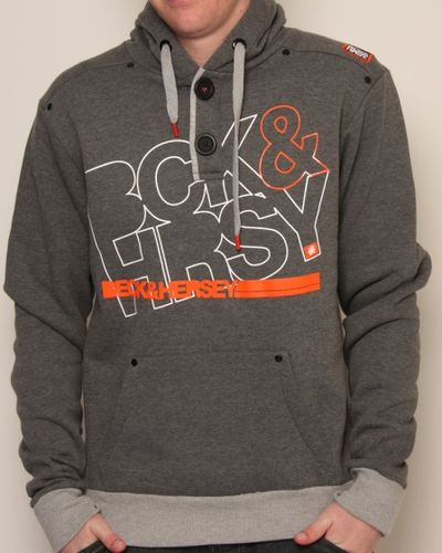 Beck and Hersey 2 Button Hoodie