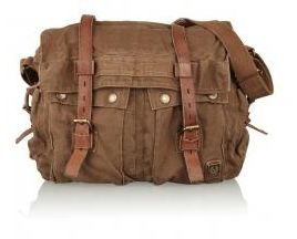 Belstaff Mountain Heavy Canvas Messenger Bag