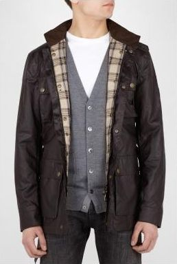 Belstaff Waxed Cotton Roadmaster Jacket