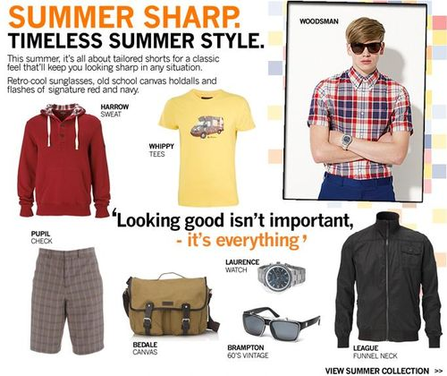Ben Sherman Summer Clothing