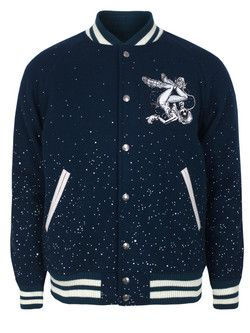 Billionaire Boys Club Deep Space Navy Varsity Jacket