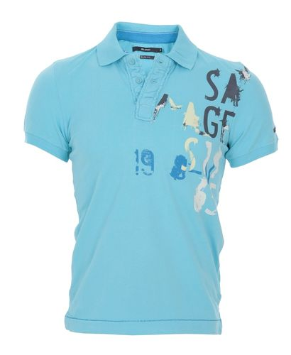 Blend Graffiti Polo Shirt
