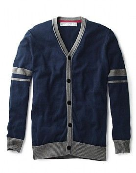 Crew Oxford Button Knit