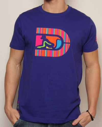 DrunknMunky Stripe Big D T-Shirt