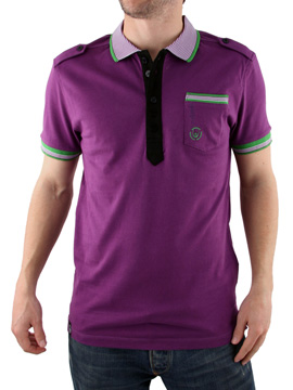 Duck and Cover Trance Polo Shirt