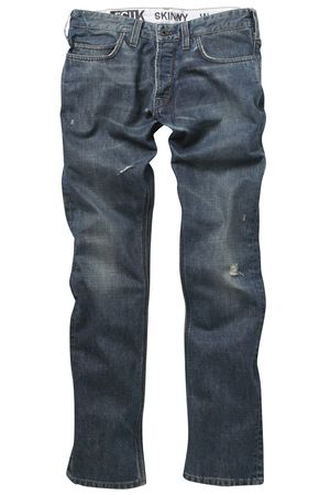 French Connection Carbon Oil Jeans