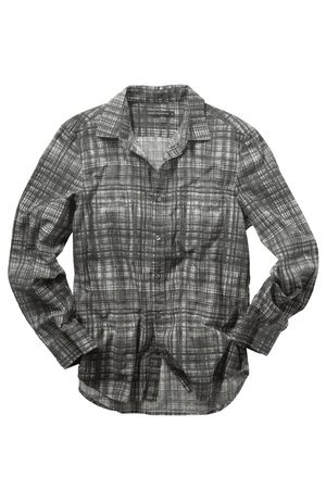 French Connection Painted Check Slim Fit Shirt