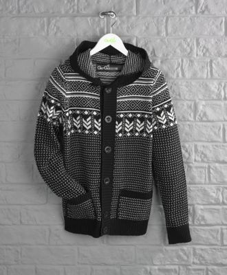 and Gio-Goi have just released a range of men's must-have jumpers, cardigans and hoodies available in a range of styles including Fairisle patterns