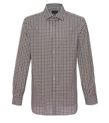 Jaeger Bold Highlighted Gingham Shirt
