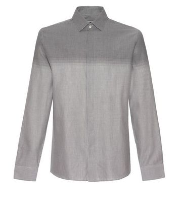 Jaeger Puppytooth Stripe Shirt
