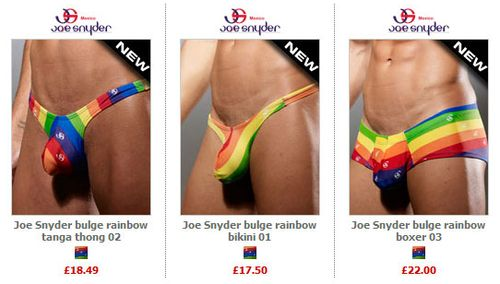 Joe Snyder Rainbow Undies