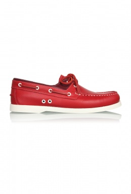 KG by Kurt Geiger Red Two Tone Deck Shoes