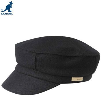 Kangol Textured Wool Fisherman Bakerboy Cap