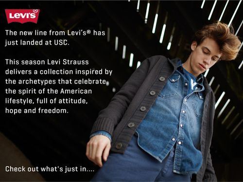Levis New Season Clothing