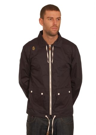 Luke 1977 Navy Collar Jacket