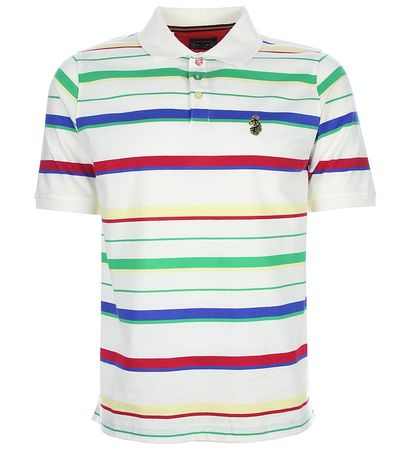 Luke 1977 Ronnie Stripe Polo Shirt
