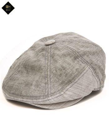 New Era Spring Pacer Linen Flat Cap