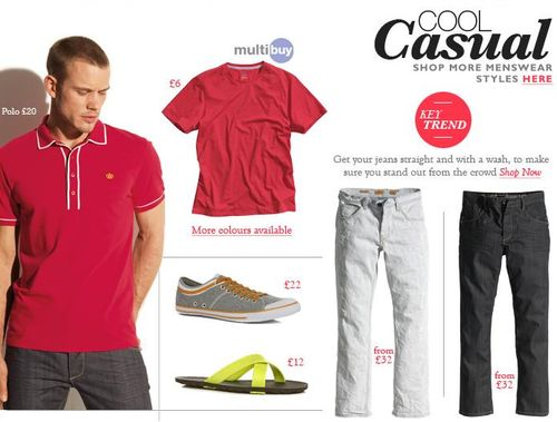 Next Mens Casual Cool