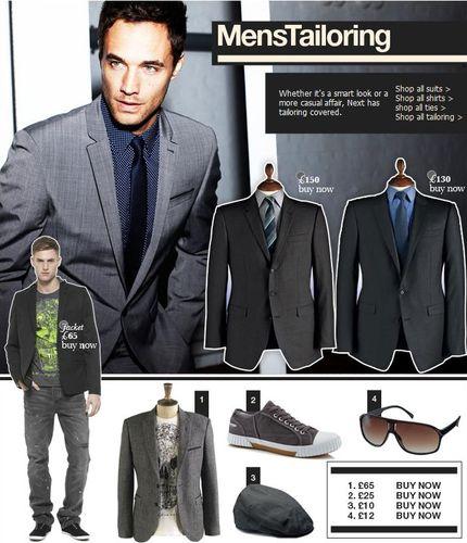 Next Mens Tailoring