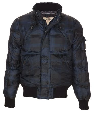No Excess Tonal Puffer Jacket