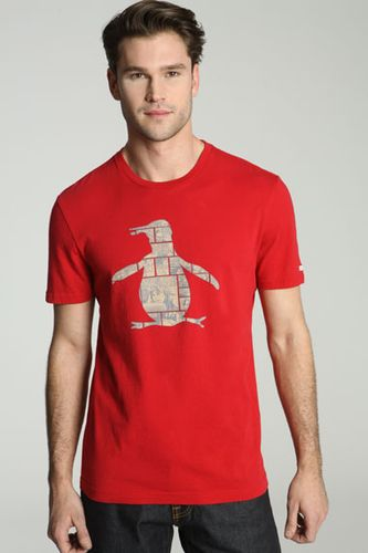 Original Penguin Comic Penguin Logo T-Shirt