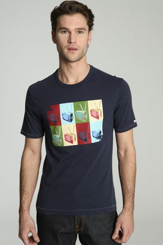 Original Penguin TV Logo T-Shirt