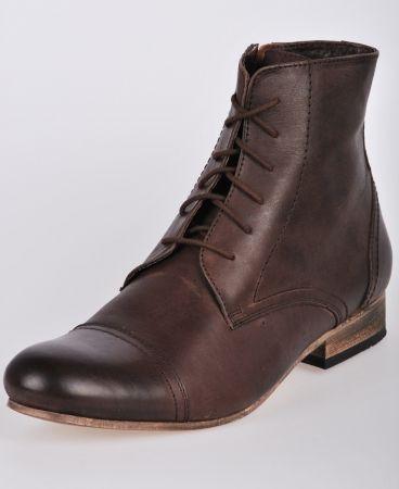 Petroleum Eyelet Boots