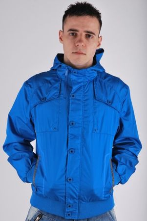 Petroleum Hooded Jacket