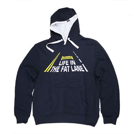 Plain Lazy Life In The Fat Lane Hoodie