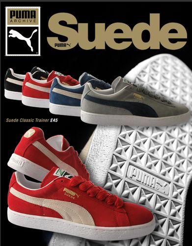 Puma Classic Suede Trainers