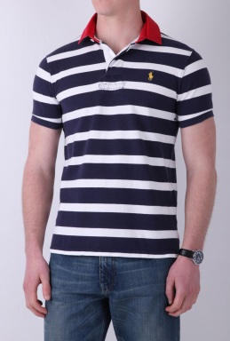 Ralph Lauren Custom Fit Rugby Polo