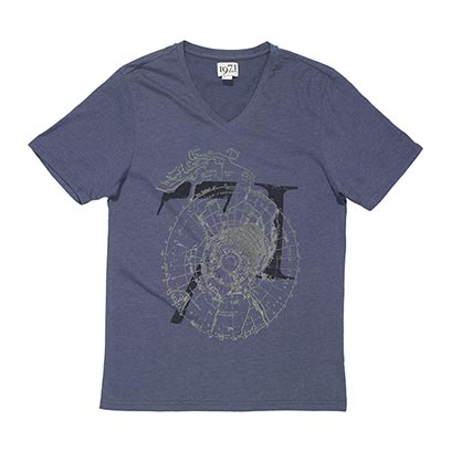 Reiss Atlas Printed T-Shirt