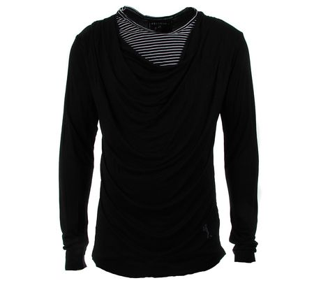 Religion Kurt Cowl Striped Top