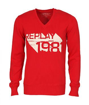 Replay Logo Jumper