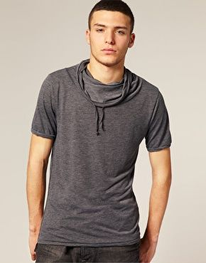 River Island Cowl Neck T-Shirt