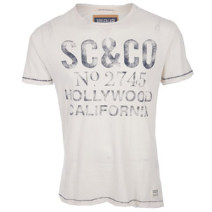 Soul Cal Deluxe Watson Crew Neck T-Shirt