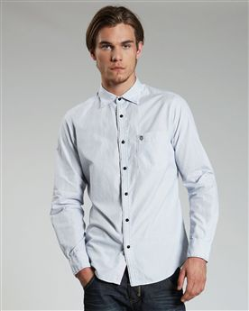 Ted Baker Custar Micro Stripe Shirt