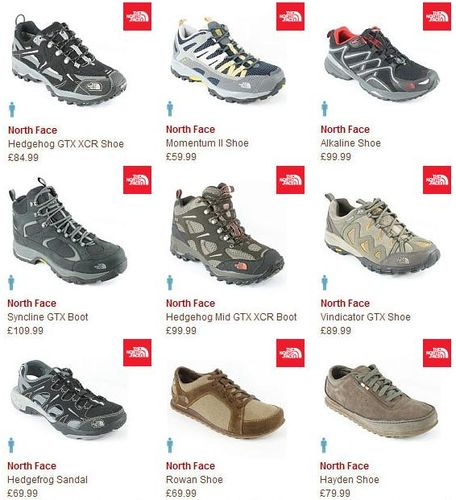 The North Face Mens Footwear