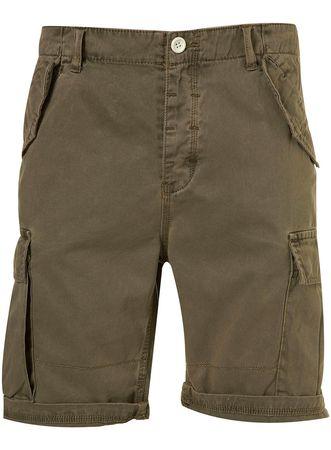 Topman Khaki Cargo Shorts