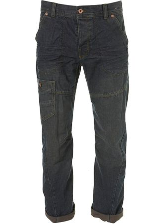 Topman Light Wash Twisted Seam Jeans