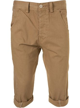 Topman Stone Carrot Cropped Shorts