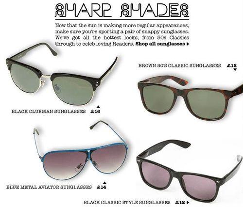 Topman Sunglasses