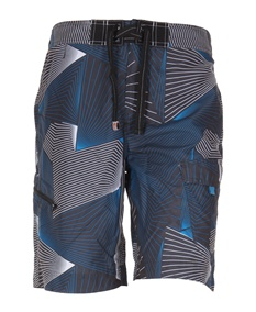 Tron Graphic Blue Swim Shorts